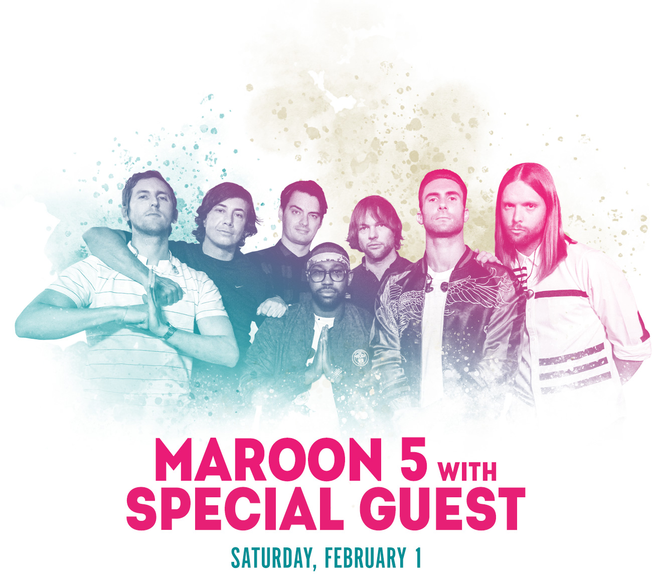 Super Bowl Eve Saturday featuring Maroon 5 with Special Guest