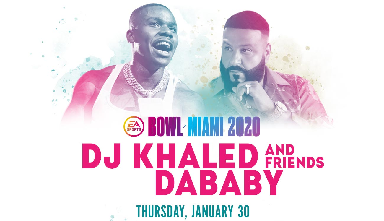 EA Sports Bowl Thursday featuring DJ Khaled and Friends
