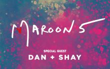 Super Bowl Eve Saturday featuring Maroon 5 with Special Guest Dan + Shay